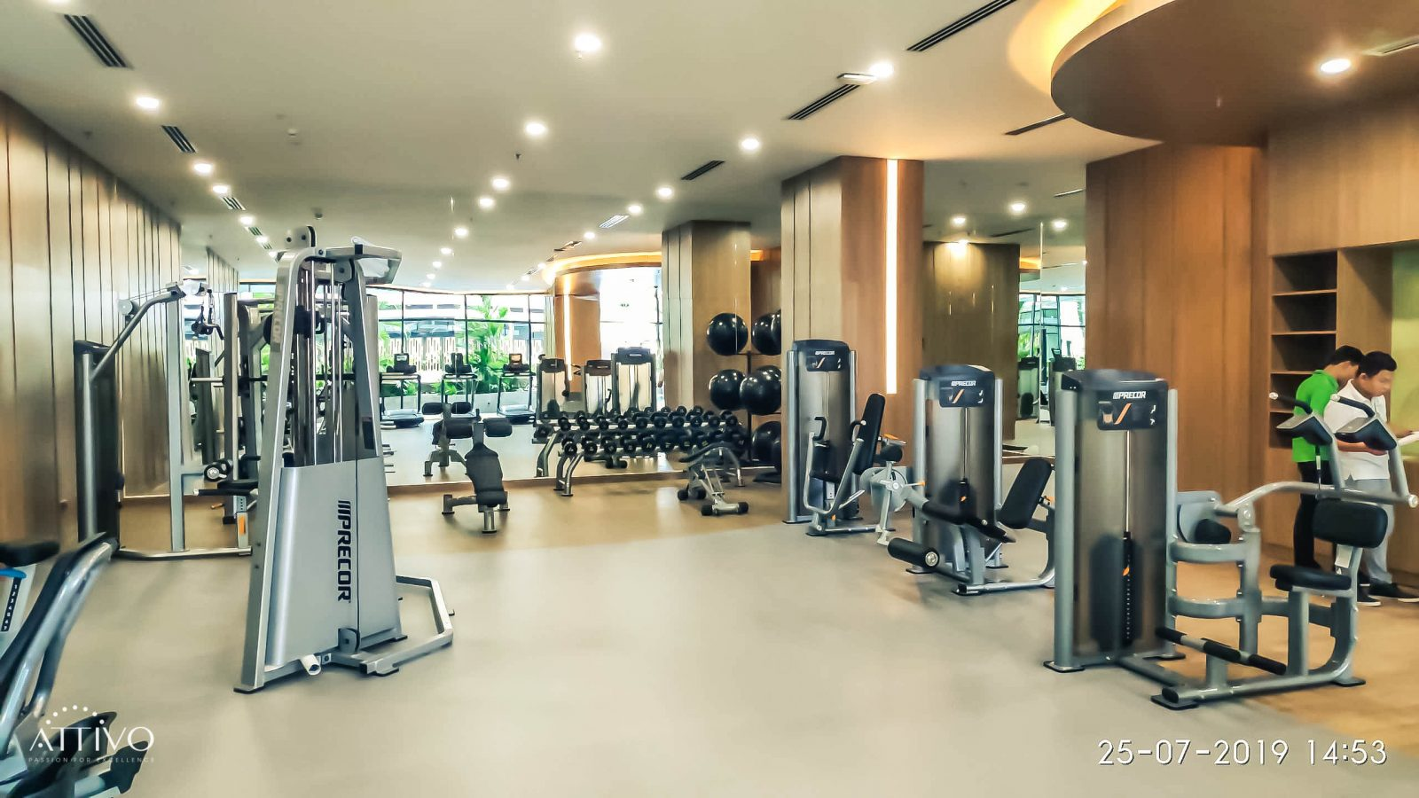 7 điểm cần lưu ý khi thiết kế phòng gym khách sạn 15