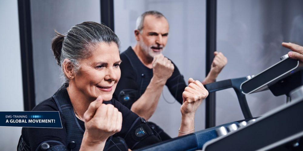 EMS Training cho người cao tuổi ? Người già có tập Miha Bodytec được không ? 1